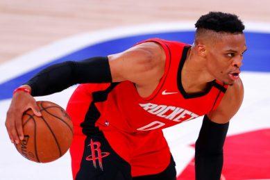 Westbrook, Harden rally Rockets over NBA-best Bucks