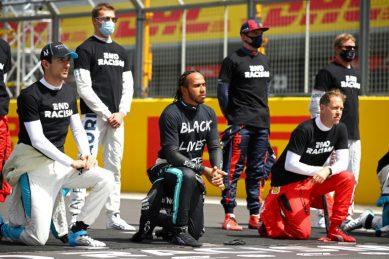 Drivers take knee in renewed F1 anti-racism campaign