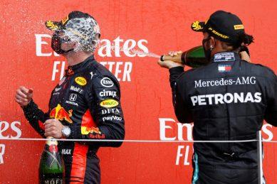 Verstappen claims 70th Anniversary GP win as 'sleeping' Mercedes wilt