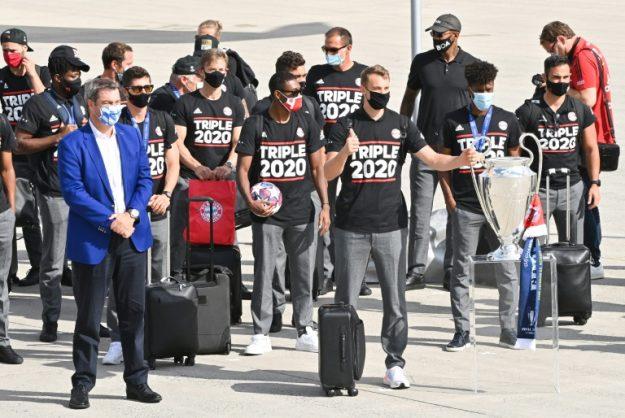 'Triple 2020': Bayern back in Munich ahead of fan-less celebrations