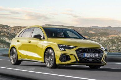 Fresh faced Audi S3 makes eagerly awaited appearance
