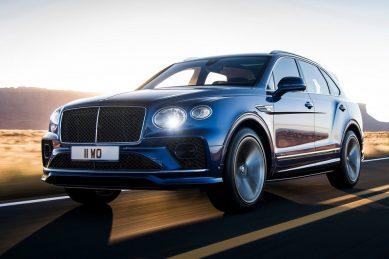 Bentley Bentayga upgraded with more Speed
