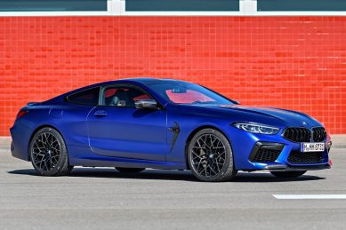 BMW M8 Competition rewrites record books