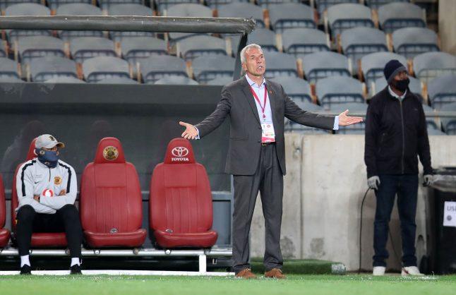 Kaizer Chiefs sack Ernst Middendorp