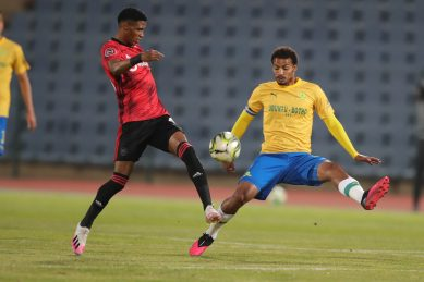 0-0 at half-time between Sundowns and Pirates