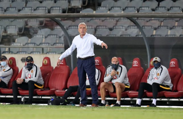 Kaizer Chiefs coach Middendorp in a spin about Amakhosi yellow cards
