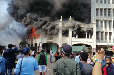WATCH: 139-year-old Durban mosque goes up in flames