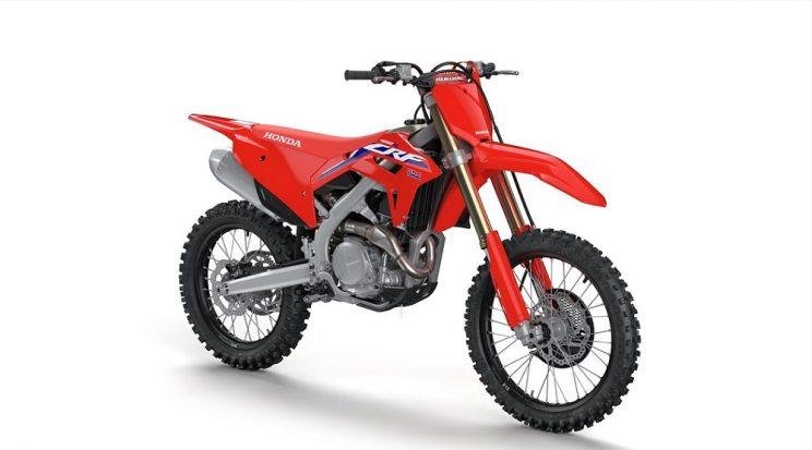 Biking with Bones – Razor sharp Honda CRF 450R