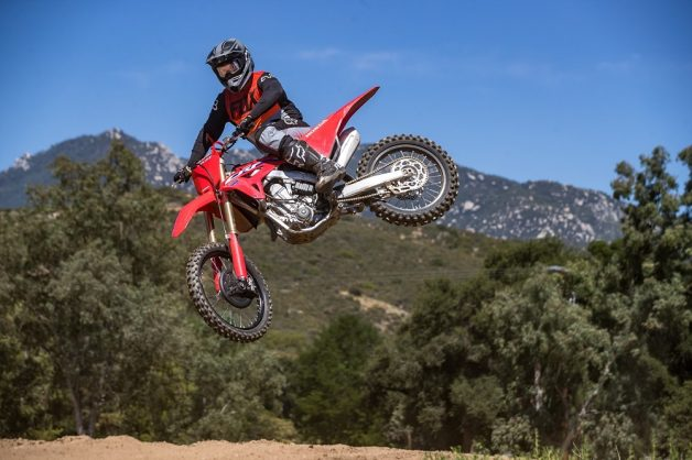 Biking with Bones – Honda CRF 450RX is cross country ready
