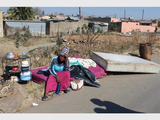 Ivory Park residents furious after shacks destroyed