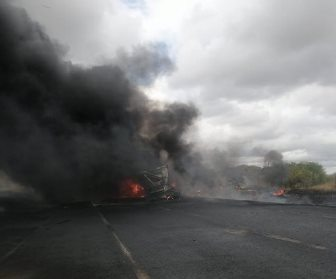 WATCH: Fatal tanker crash and explosion caught on dashcam