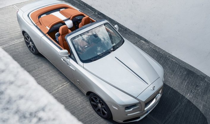 Rolls-Royce Dawn hit with the Silver Bullet