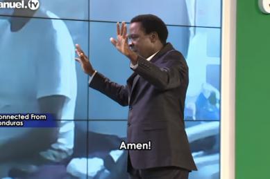 WATCH: TB Joshua prays the Covid-19 away