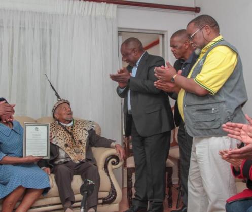 John Nkadimeng's memorial service marked by strong anti-graft message