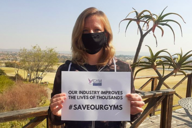 SA fitness industry takes to the streets to #SaveOurGyms