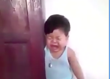 WATCH: This toddler faking an injury is the funniest thing you'll watch today
