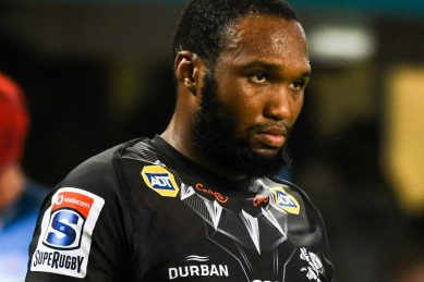 Bok centre Lukhanyo Am remains loyal to the Sharks