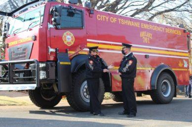 WATCH: Tshwane receives 'state-of-the-art' bulletproof emergency vehicles