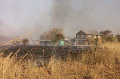 IN PICS: Pretoria North blaze threatens homes, livestock