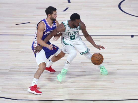 Celtics vanquish 76ers to reach NBA playoffs 2nd round