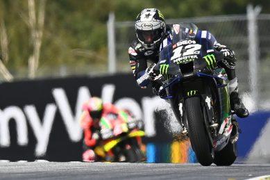Vinales takes pole, Binder left chasing at Austrian MotoGP
