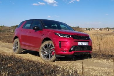 Look ma, no engine! Off-roading made easy in the Land Rover Discovery Sport