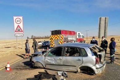Man, 9-year-old boy die after car rolls near Ermelo