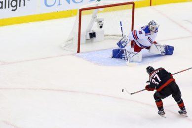 Hurricanes blow past Rangers with Svechnikov treble