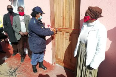 Eastern Cape cops help renovate dilapidated family home