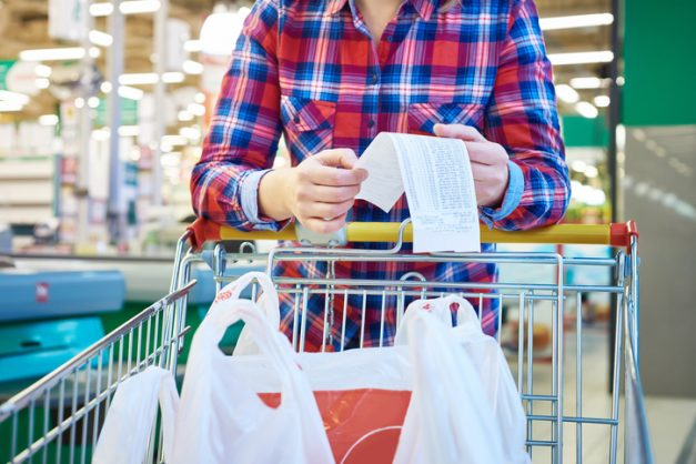 Make grocery lists and buy in bulk to make your monthly budget go further