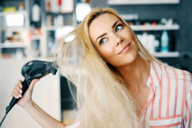 How to apply heat to your hair without causing damage