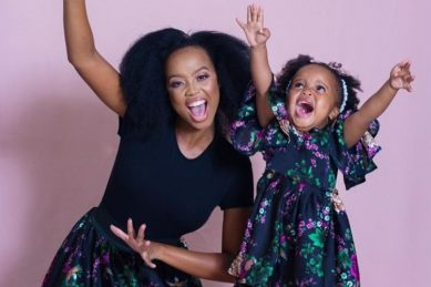 WATCH: Ntando Duma's daughter Sbahle Mzizi impresses fans with her singing skills
