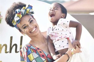 Pearl Thusi praised for parenting after sharing heartfelt message to daughter Okuhle