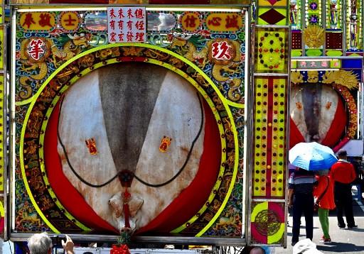 Video: Taiwan's polarising pig festival draws smaller sacrifices