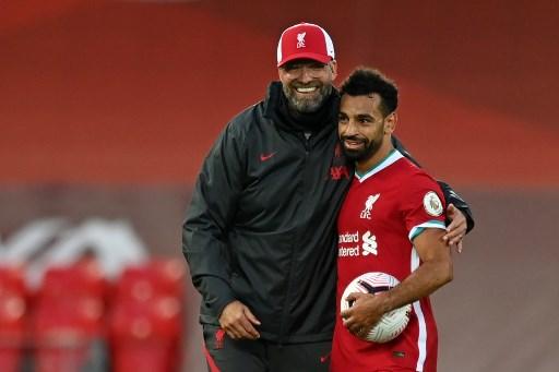 Klopp praises 'spectacle' as Salah hat-trick sees Liverpool edge Leeds 4-3