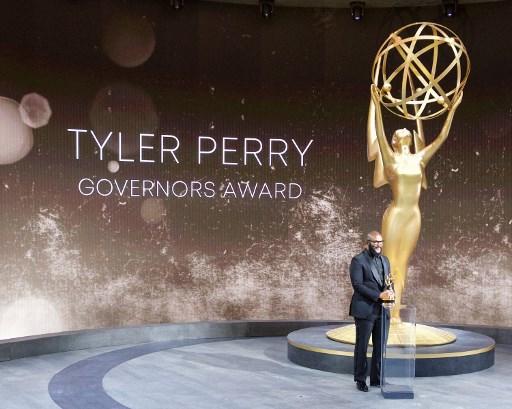 Emmys style: gowns, pyjamas and… hazmat tuxedos