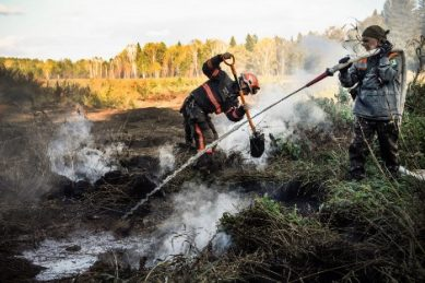 Watch: Climate change stokes 'zombie fires' in Siberia forests