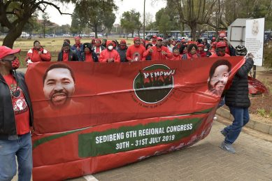 VIDEO: Nehawu Union Building 'protest', Cosatu calls on workers, citizens for support