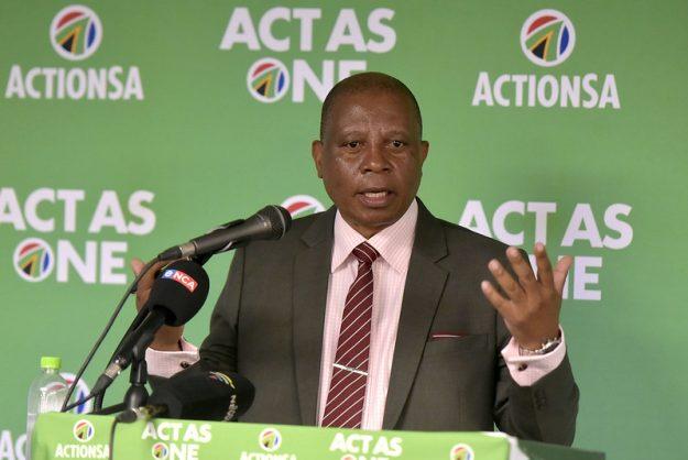 ActionSA's private prosecution threats are 'frivolous', says CoJ spokesperson