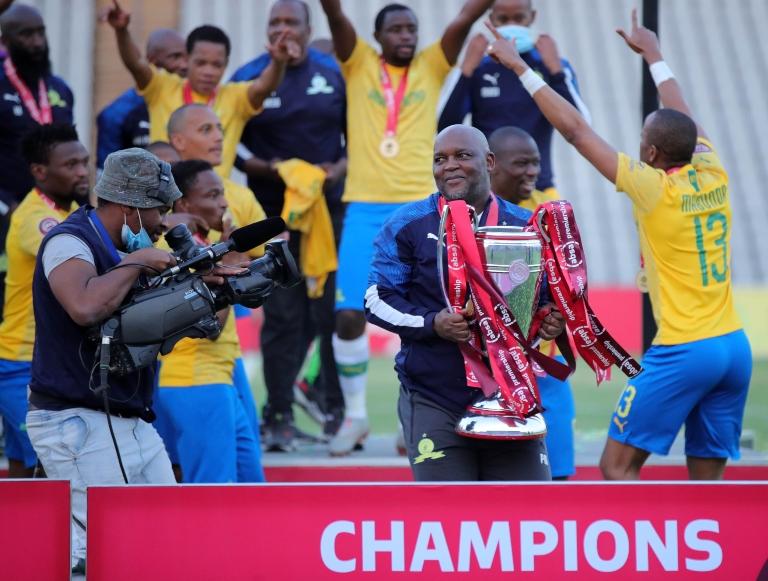 GALLERY: Sundowns crowned Absa Premiership champions