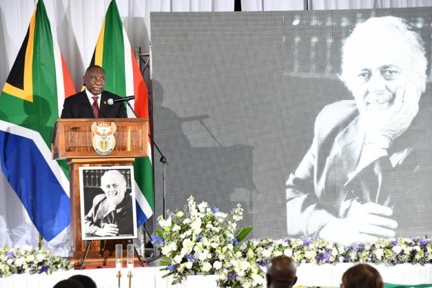 We owe it to his legacy to finish what George started – Ramaphosa