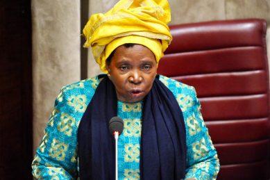 SA moving from 'eye of storm', but virus still a threat – Dlamini-Zuma