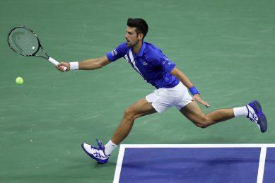 Djokovic through to last 16 as bizarre delay shrouds US Open