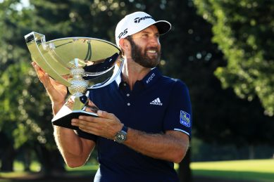 FedEx Cup champ Johnson: 'The best I've ever played'