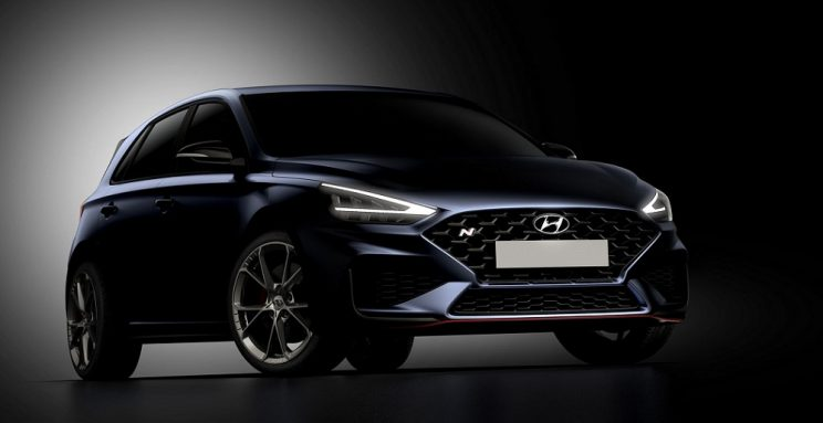 Hyundai releases first teaser of updated i30 N
