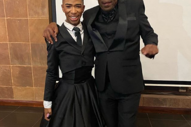 Lasizwe and Khanyi Mbau mourn death of their father, Menzi Mcunu