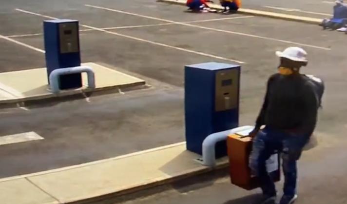 WATCH: Thief steals Newcastle municipality's job application box