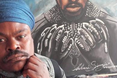 Sizwe Dhlomo calls Rasta to order after 'Black Panther' painting attempt