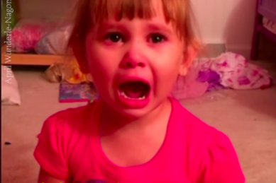 WATCH: Barbie made little girl paint dolls' nails with nail polish on her carpet