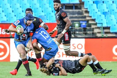Bulls charge past Sharks as local rugby makes a long-awaited return
